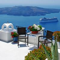 Балкончик в Греции