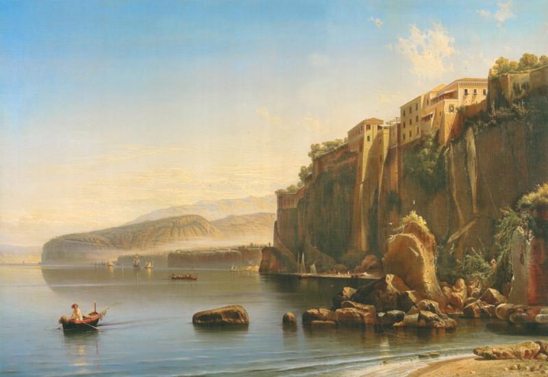 Скала рядом с морем