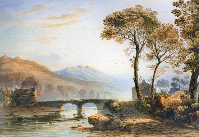 Село мостик через речку