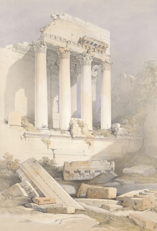 Развалины колонны