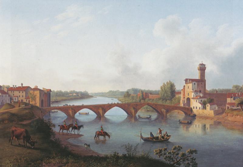 Всадники у реки