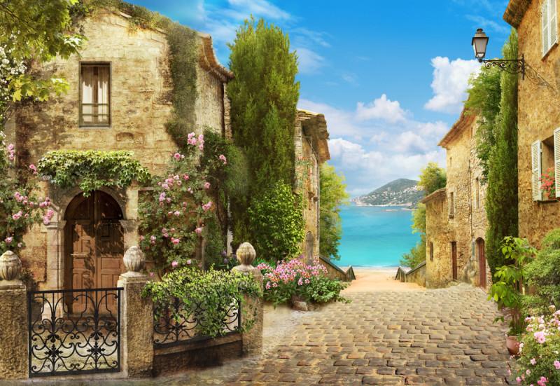 Городской европейский пейзаж