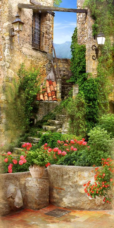 Лестница во дворик