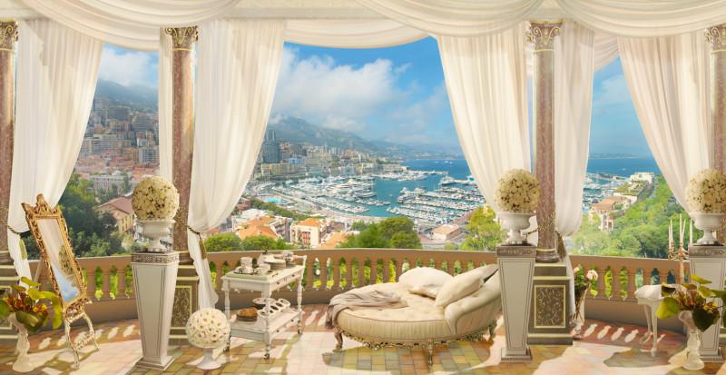 Фреска вид на Монако