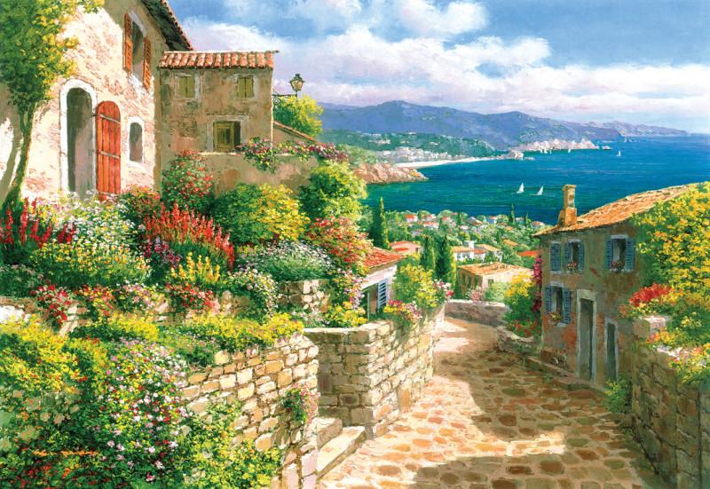 Средиземноморская улочка