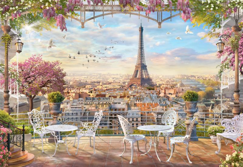 Фреска романтика Парижа