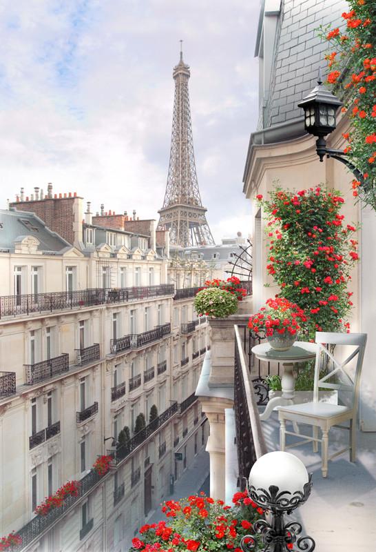 Фреска Парижская улица