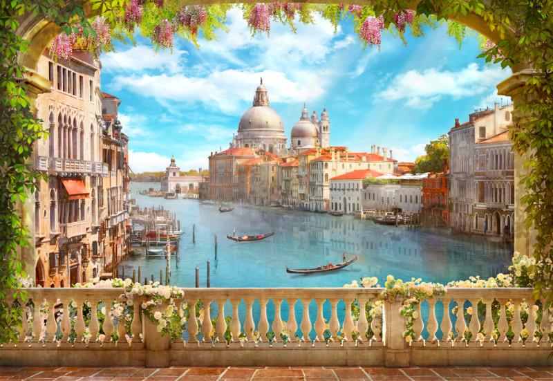 Фреска  Венецианский балкон
