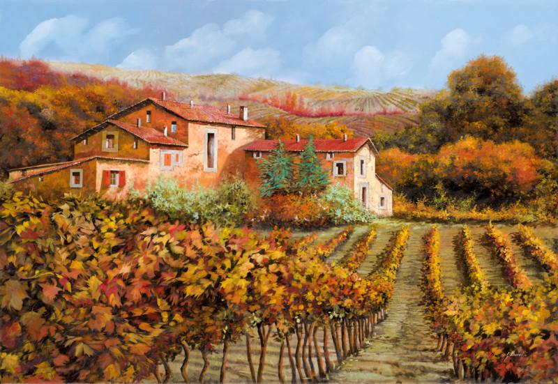 Деревушка виноградник