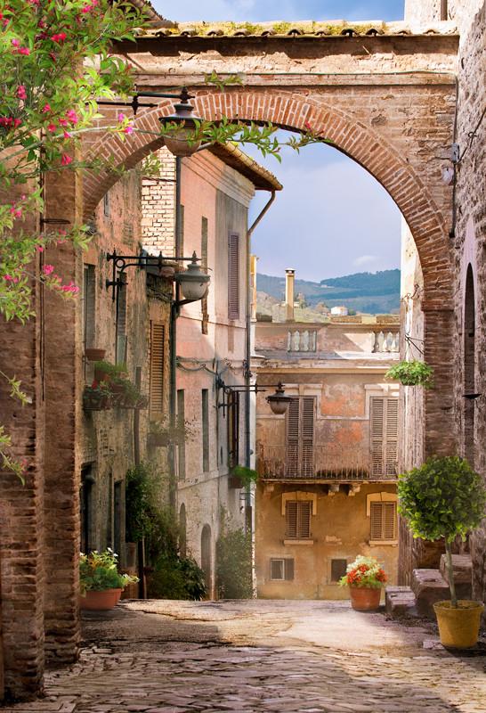 Городская итальянская арка