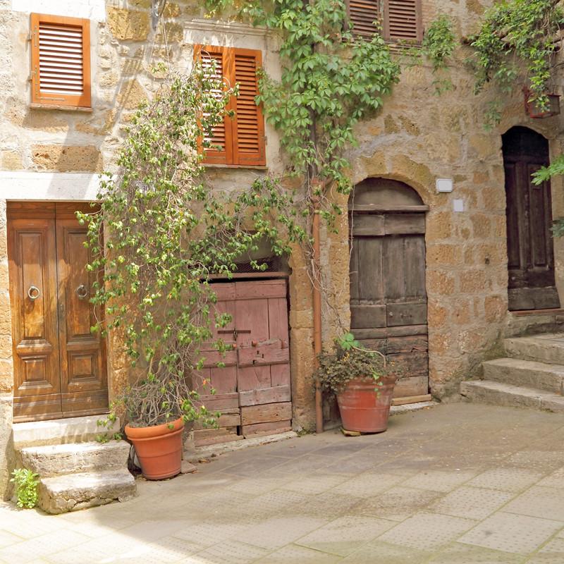 Фасад итальянского дома