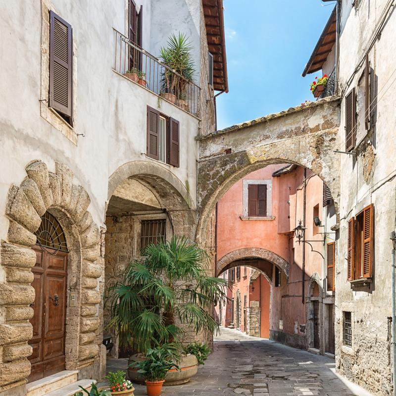 Городской итальянский пейзаж